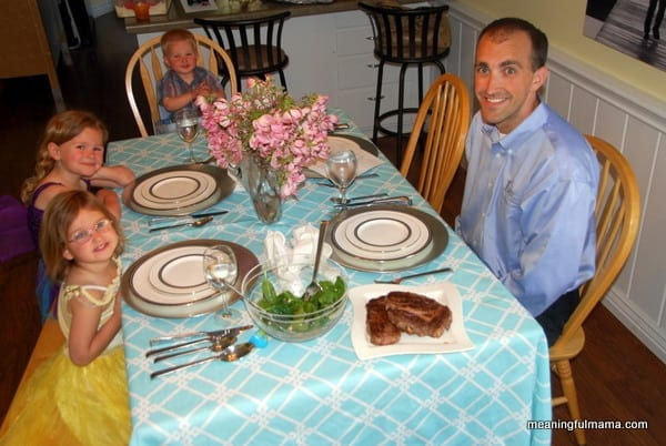manners for children, etiquette dinner party
