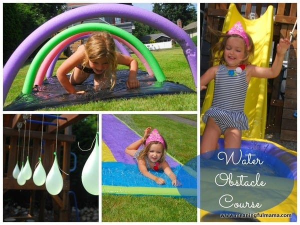 summer activities for kids, diy water park